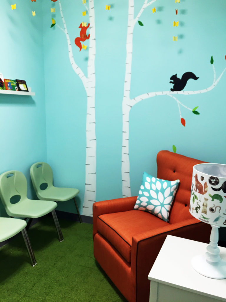 Children's Waiting Room, Princeton University