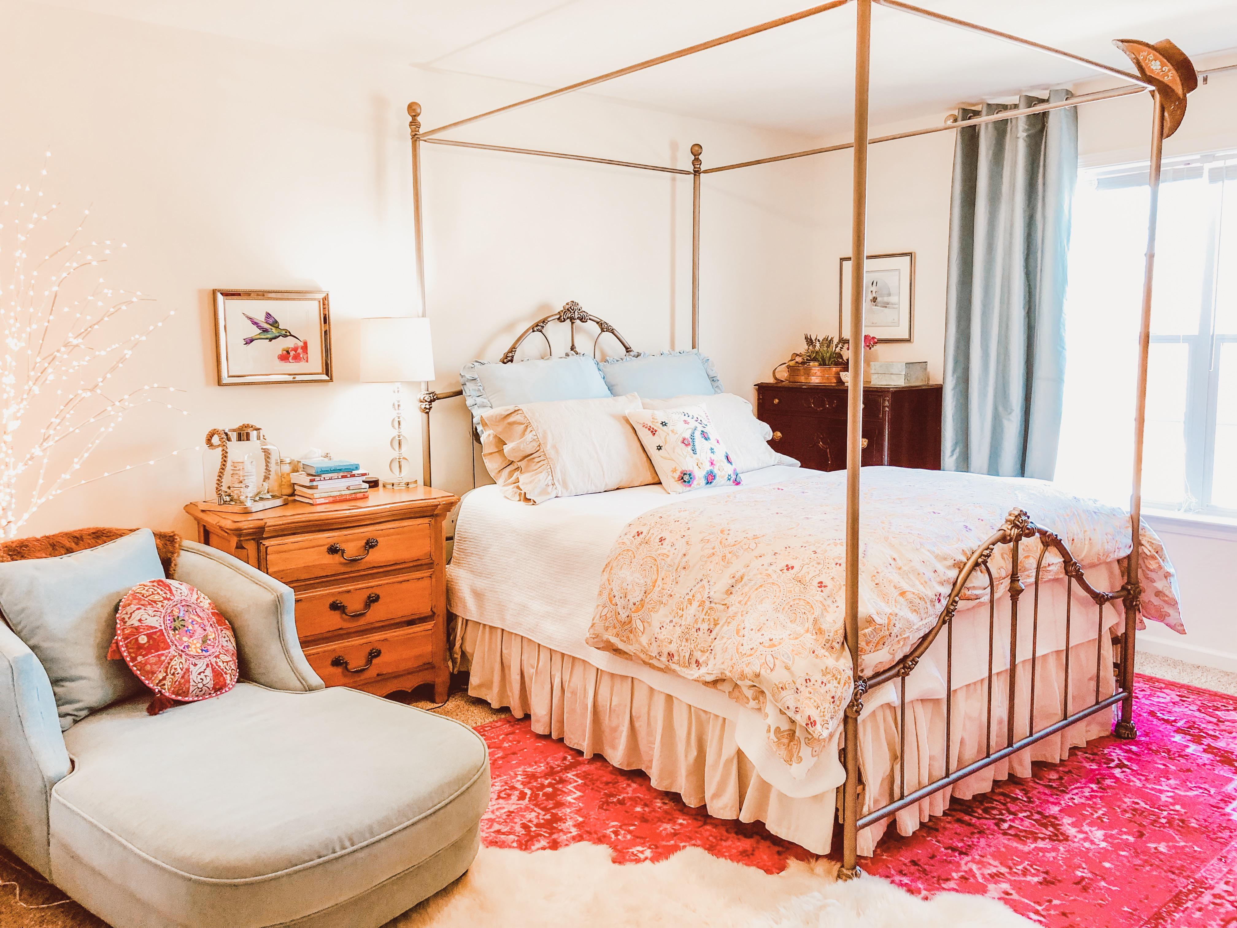 Boho Eclectic Bohemian Style Bedroom