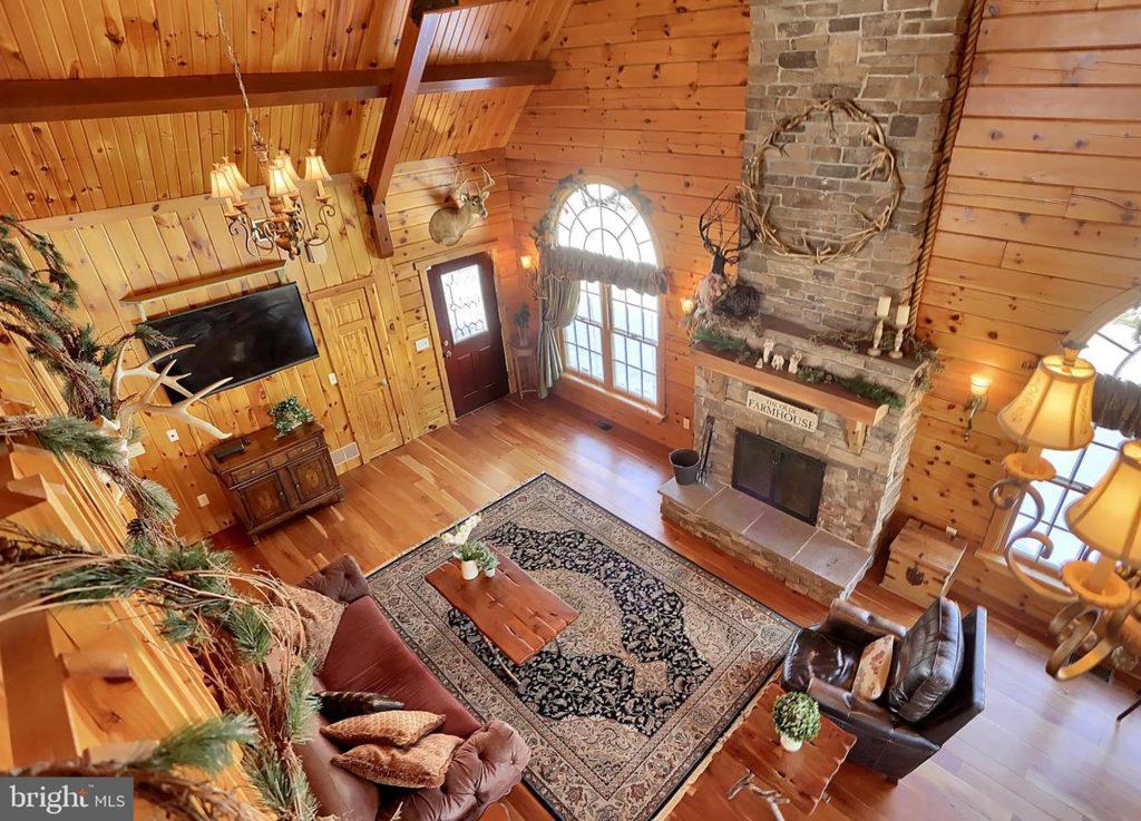 Log Cabin Home by Sherri Blum