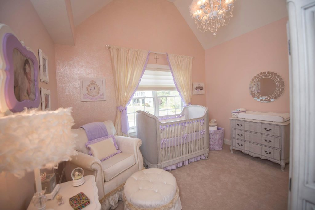 Princess Nursery, Baby Girl Room by Sherri Blum