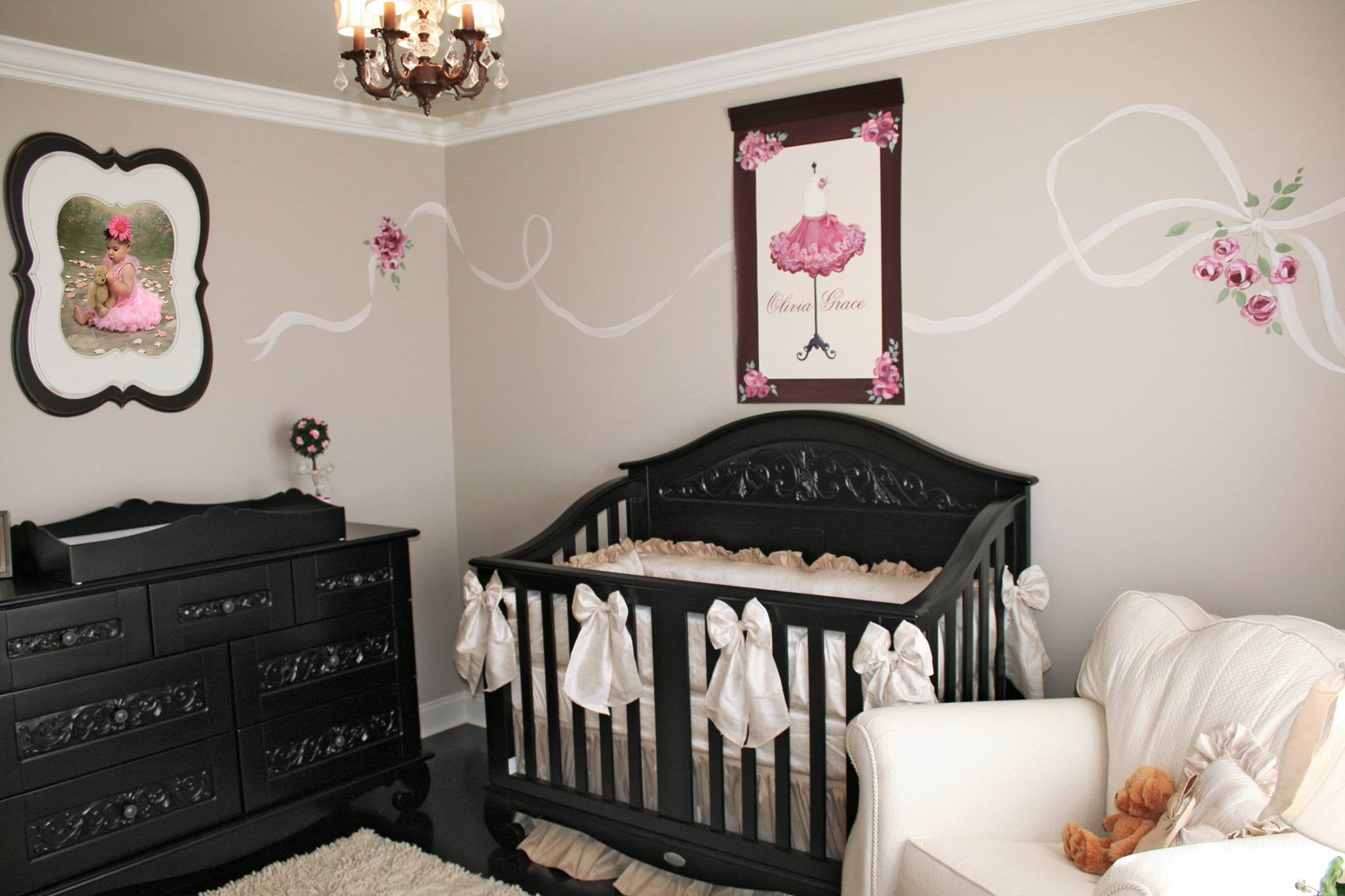 Girl's Nursery, Parisian French Theme