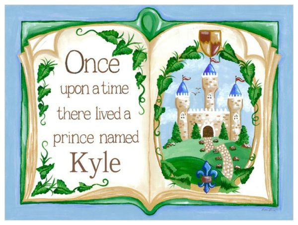 Little Prince Once Upon a Time Storybook Wall Art Decor