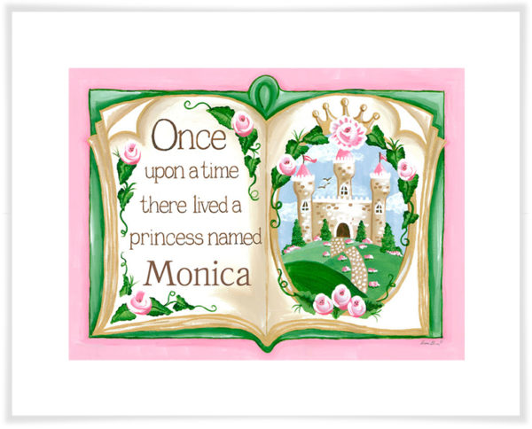 Once Upon a Time Princess Art Print