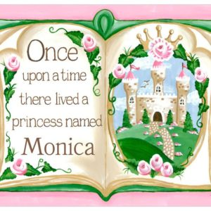 Princess Decor, Once Upon a Time Storybook Art by Sherri Blum