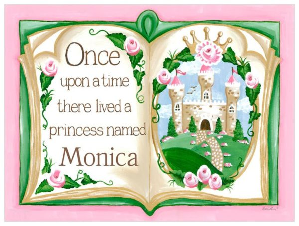 Princess Decor, Once Upon a Time Storybook Art by Sherri Blum