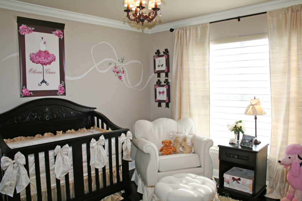 Girl's Nursery by Sherri Blum, Celebrity Interior Designer