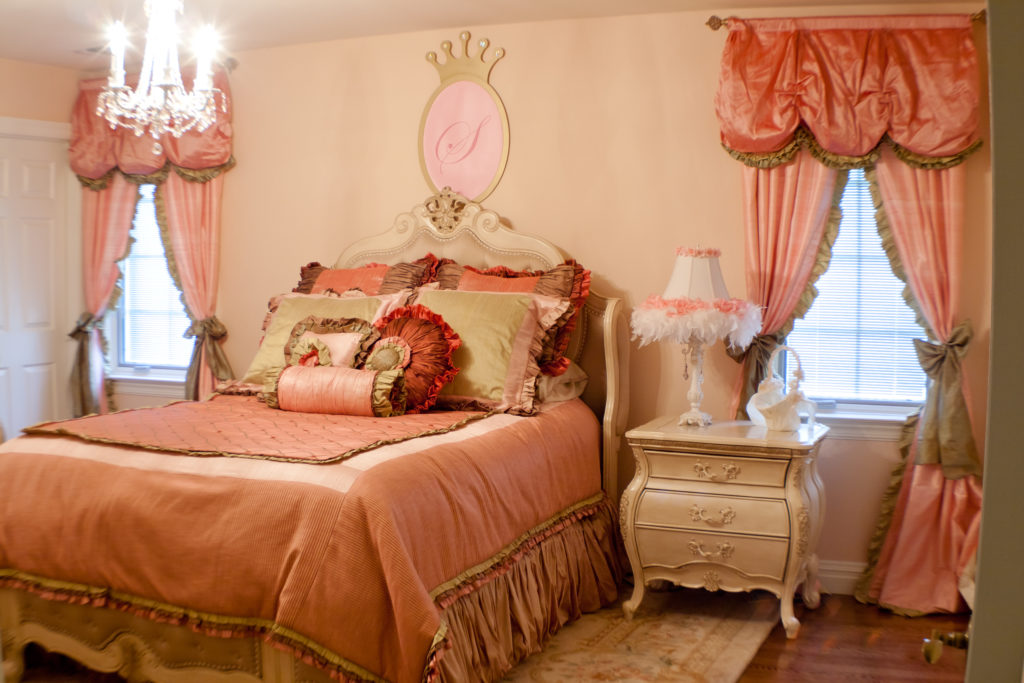 Princess Theme Girl's Room, Celebrity Kids' Rooms