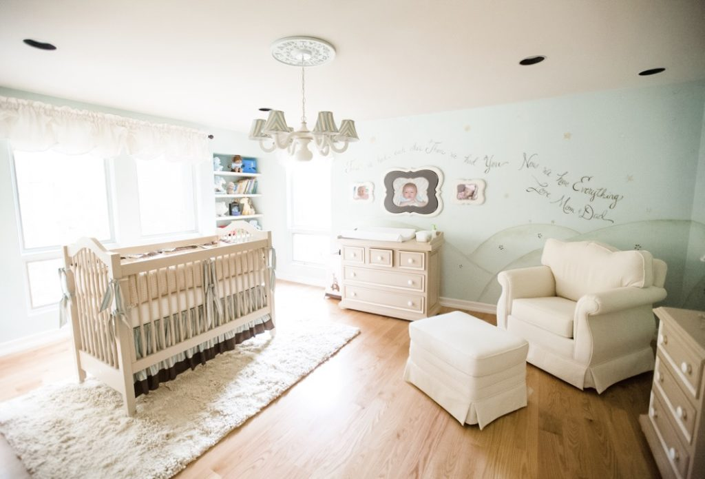 Little Prince Theme Nursery Room by Sherri Blum