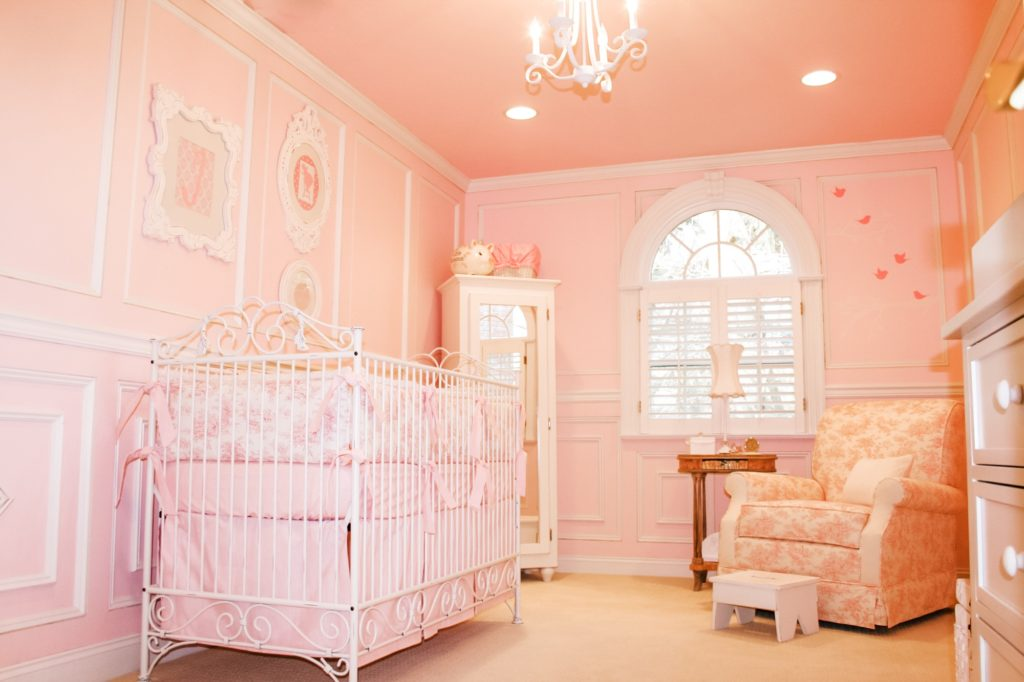 Pink Princess Fairytale Nursery