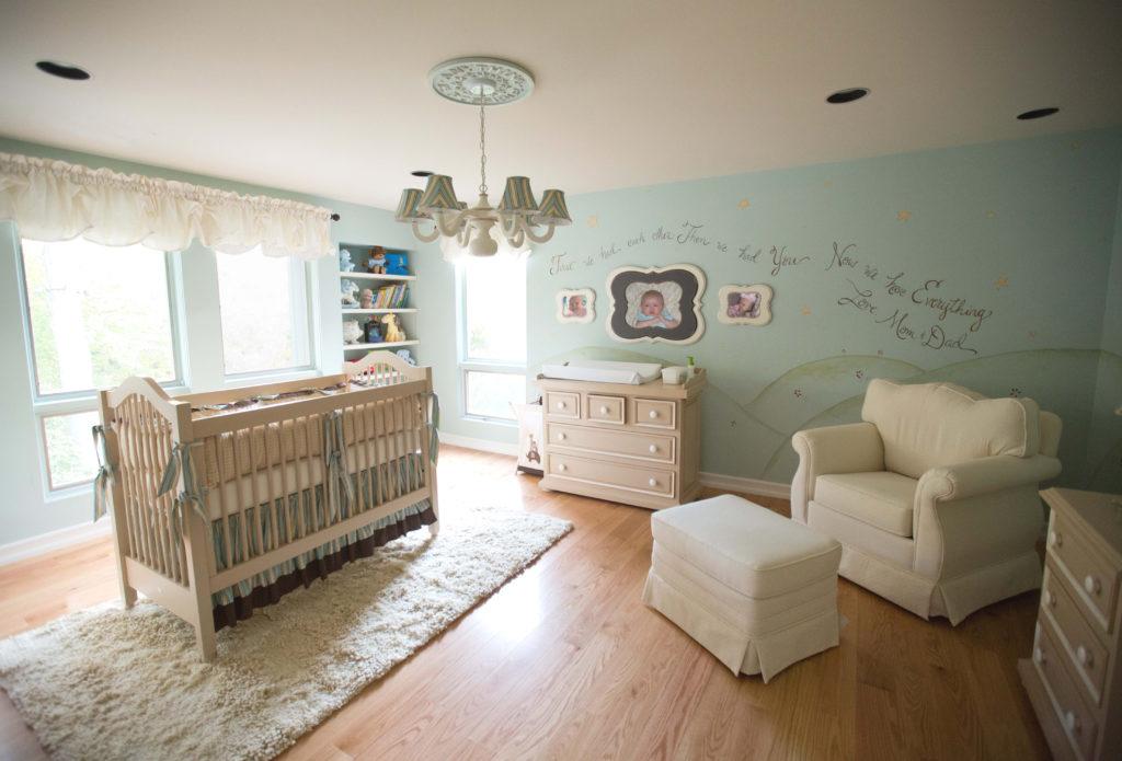 Little Prince Theme Nursery Room by Sherri Blum