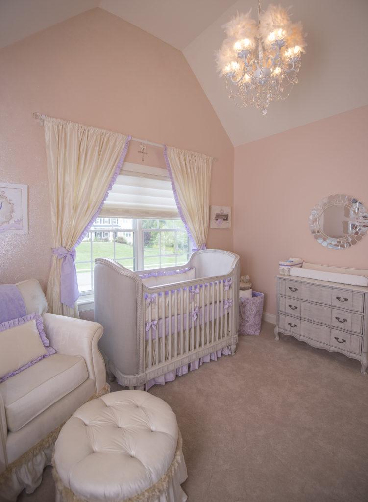 Princess Nursery, Baby Girl's Room Design