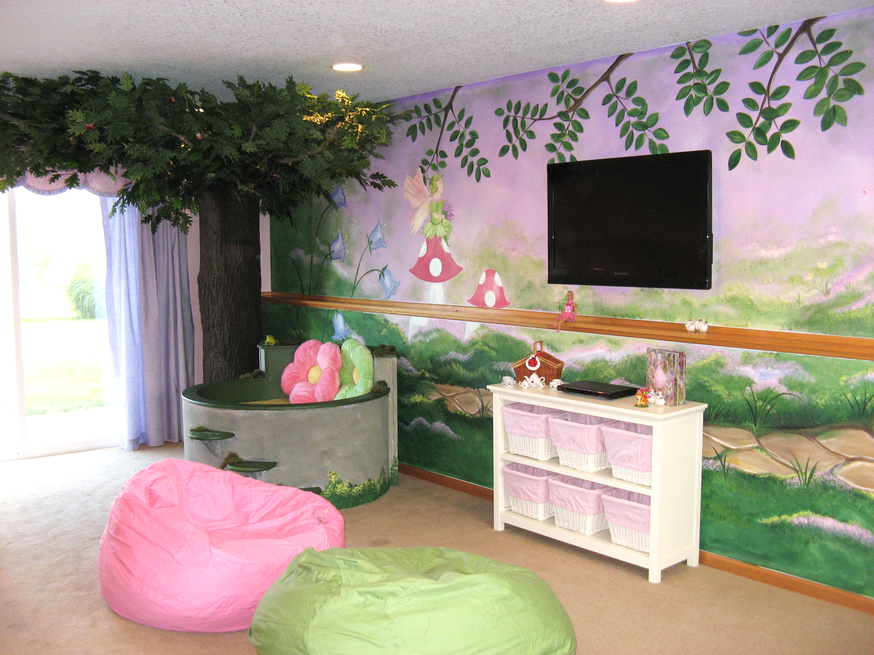 Fairy Garden Playroom with Tree, Make a Wish