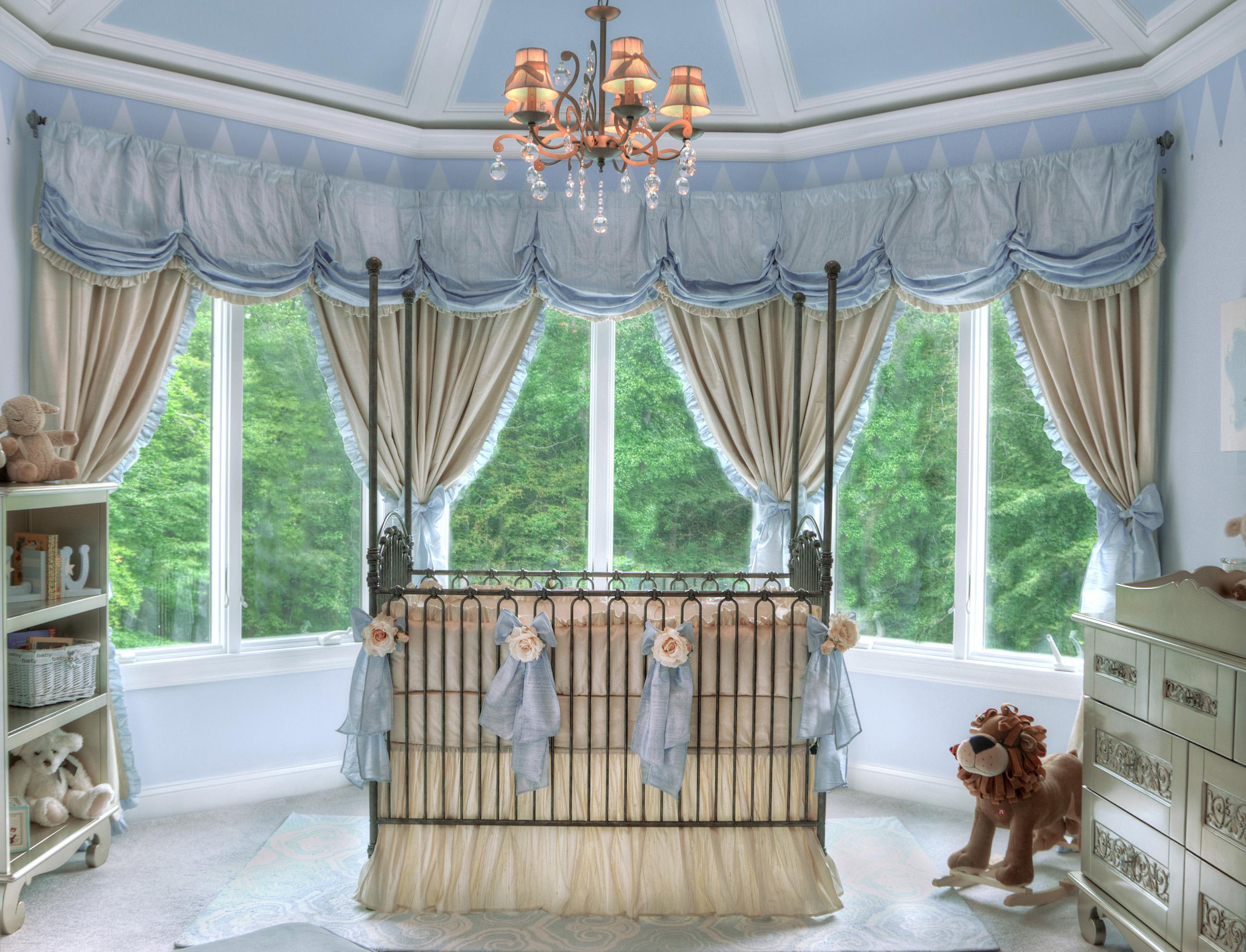 Royal Prince Nursery, Fairytale Theme Baby Room by Sherri Blum, Celebrity Interior Designer