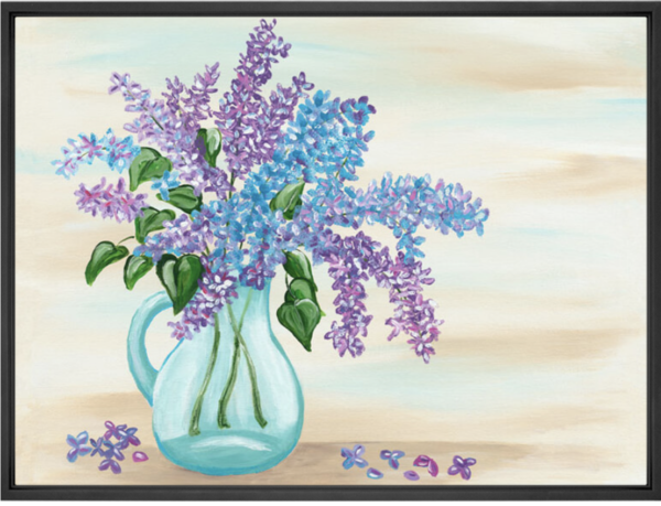 Lilacs Sherri Blum, Artist Wall Art Canvas and Prints