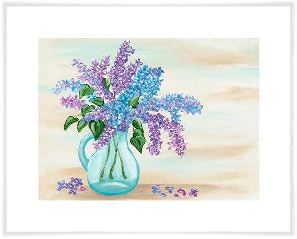 Lilacs Sherri Blum, Artist Wall Art Canvas and Prints