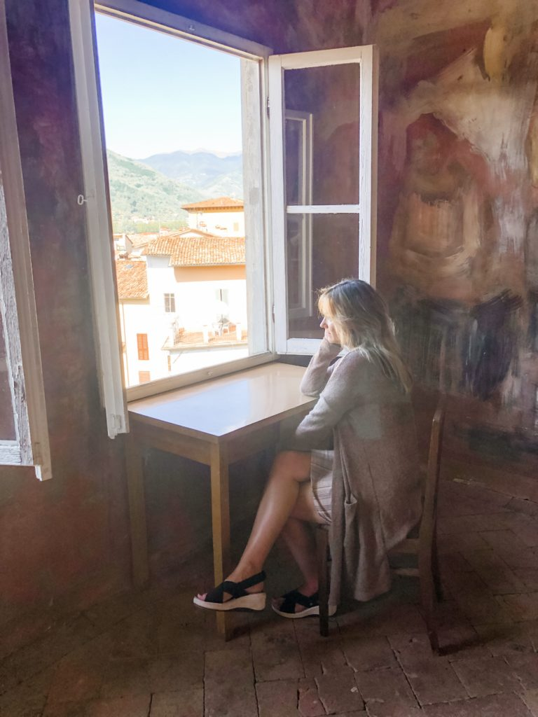 american artist in tuscany