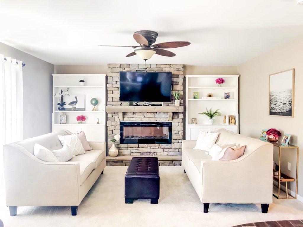 Sherri Blum Redecorates a Family Room in Harrisburg