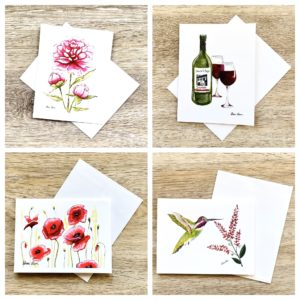 Pack of Mixed Greeting Cards, Notecards by Sherri Blum
