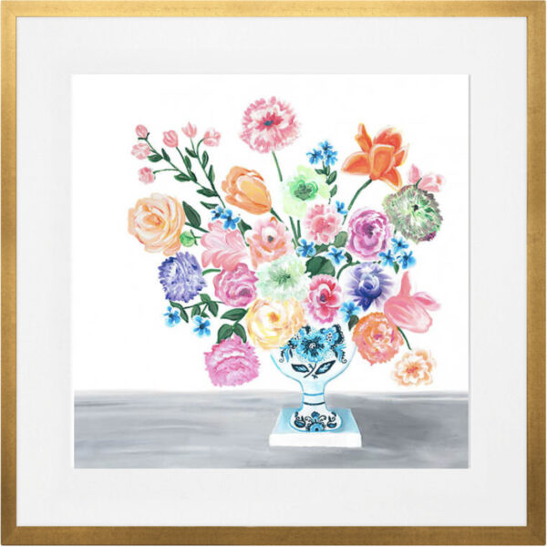 Sweet Bouquet of Florals Wall Art Canvas by Sherri Blum