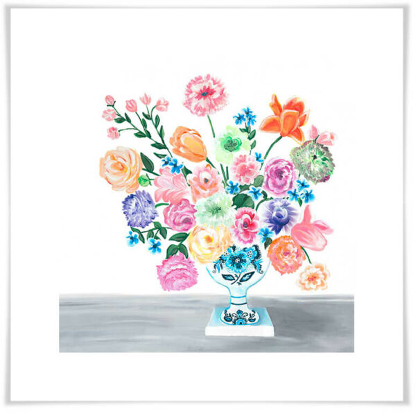 Sweet Bouquet of Florals Art Print by Sherri Blum